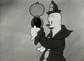 Screenshots from the 1933 Fleischer Studio cartoon Is My Palm Red