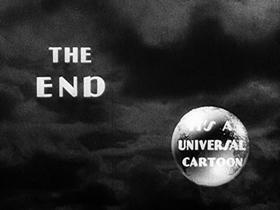 Screenshots from the 1933 Walter Lantz cartoon Confidence
