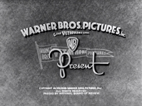 Screenshots from the 1933 Warner Brothers cartoon The Organ Grinder