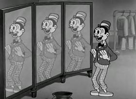 Screenshots from the 1933 Warner Brothers cartoon We