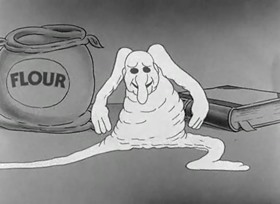 Screenshots from the 1933 Warner Brothers cartoon The Dish Ran Away With the Spoon