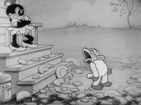 Screenshots from the 1933 Warner Bros. cartoon Bosko