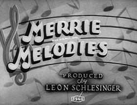 Screenshots from the 1934 Warner Brothers cartoon Pettin
