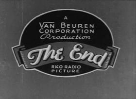 Screenshots from the 1934 Van Beuren cartoon Jolly Good Felons