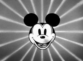 Screenshots from the 1934 Disney cartoon Shanghaied