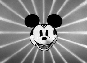 Screenshots from the 1934 Disney cartoon Orphan