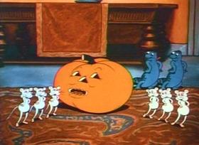 Screenshots from the 1934 Fleischer Studio cartoon Poor Cinderella