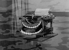 Screenshots from the 1934 Fleischer Studio cartoon Ha! Ha! Ha!