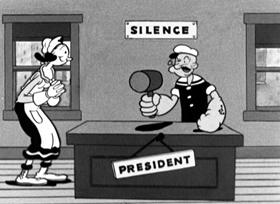 Screenshots from the 1934 Fleischer Studio cartoon Can You Take It