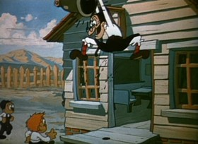 Screenshots from the 1935 Ub Iwerks cartoon Mary