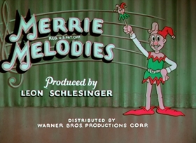 Screenshots from the 1935 Warner Brothers cartoon I Haven