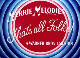 Screenshots from the 1935 Warner Brothers cartoon The Merry Old Soul
