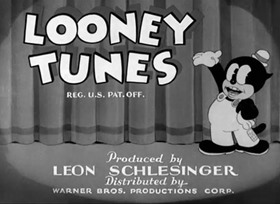 Screenshots from the 1935 Warner Brothers cartoon A Cartoonist