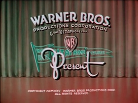 Screenshots from the 1935 Warner Brothers cartoon Billboard Frolics