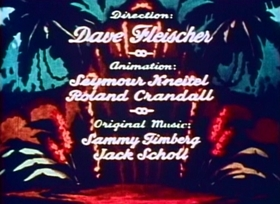 Screenshots from the 1935 Fleischer Studio cartoon An Elephant Never Forgets
