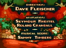 Screenshots from the 1935 Fleischer Studio cartoon Song of the Birds