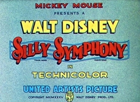 Screenshots from the 1935 Disney cartoon The Golden Touch