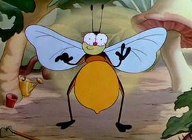 Screenshots from the 1935 Disney cartoon Mickey