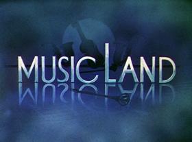 Screenshots from the 1935 Disney cartoon Music Land