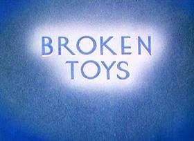 Screenshots from the 1935 Disney cartoon Broken Toys