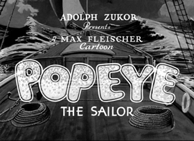 Screenshots from the 1935 Fleischer Studio cartoon Pleased To Meet Cha!