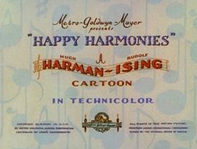 Screenshots from the 1935 MGM cartoon Honeyland