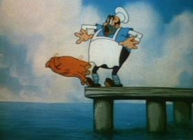 Screenshots from the 1936 Ub Iwerks cartoon Dick Whittington