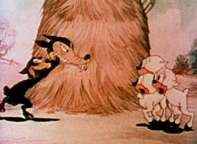 Screenshots from the 1936 Ub Iwerks cartoon Little Boy Blue