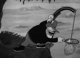 Screenshots from the 1936 Warner Bros. cartoon Gold Diggers of