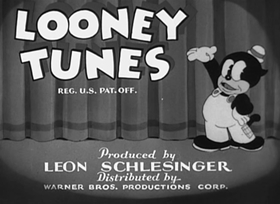 Screenshots from the 1936 Warner Brothers cartoon Gold Diggers of