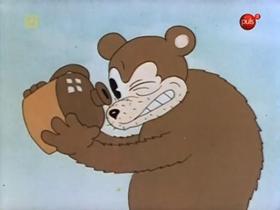 Screenshots from the 1936 Warner Brothers cartoon I Wanna Play House