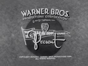 Screenshots from the 1936 Warner Brothers cartoon The Fire Alarm
