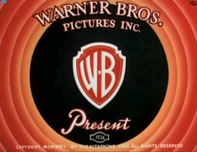 Screenshots from the 1936 Warner Brothers cartoon Flowers For Madame