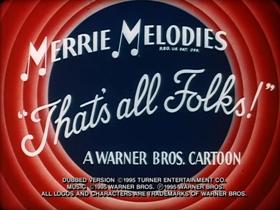 Screenshots from the 1936 Warner Brothers cartoon I