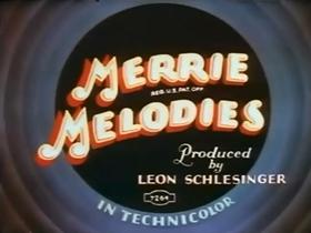 Screenshots from the 1936 Warner Brothers cartoon Bingo Crosbyana