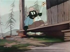 Screenshots from the 1936 Warner Brothers cartoon When I Yoo Hoo