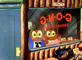 Screenshots from the 1936 Warner Brothers cartoon I Love To Singa