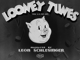 Screenshots from the 1936 Warner Brothers cartoon The Village Smithy