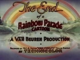 Screenshots from the 1936 Van Beuren cartoon A Waif