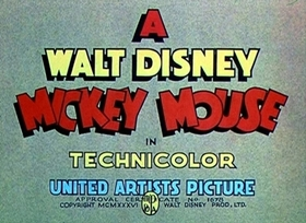 Screenshots from the 1936 Disney cartoon Alpine Climbers