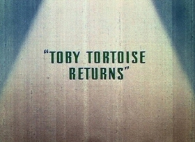 Screenshots from the 1936 Disney cartoon Toby Tortoise Returns
