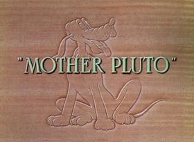 Screenshots from the 1936 Disney cartoon Mother Pluto