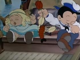 Screenshots from the 1936 Columbia cartoon In My Gondola