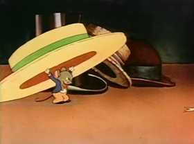Screenshots from the 1937 Warner Brothers cartoon A Sunbonnet Blue