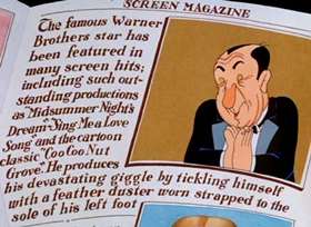 Screenshots from the 1937 Warner Brothers cartoon Speaking of the Weather