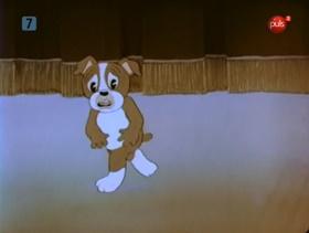 Screenshots from the 1937 Warner Brothers cartoon Dog Daze