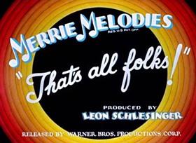 Screenshots from the 1937 Warner Brothers cartoon Little Red Walking Hood
