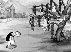 Screenshots from the 1937 Fleischer Studio cartoon Hospitaliky