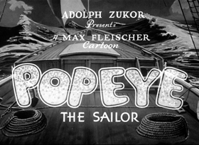 Screenshots from the 1937 Fleischer Studio cartoon The Twisker Pitcher