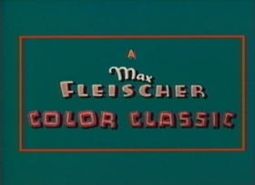 Screenshots from the 1937 Fleischer Studio cartoon Peeping Penguins